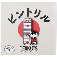 PEANUTS Worldwide - Red Joe Cool Sign Pin