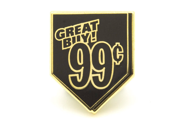 AriZona 99c Pin - Black and Gold