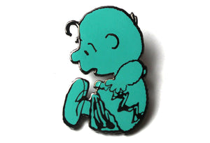 Peanuts - AVAF - Green Floating Charlie Brown Pin - PRE-ORDER
