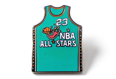All-Star Jersey 23 Pin - Green