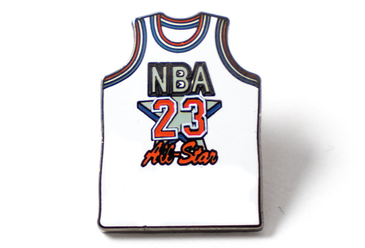 All-Star Jersey 23 Pin - White