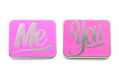 Baron Von Fancy - Me & You Pin Pack