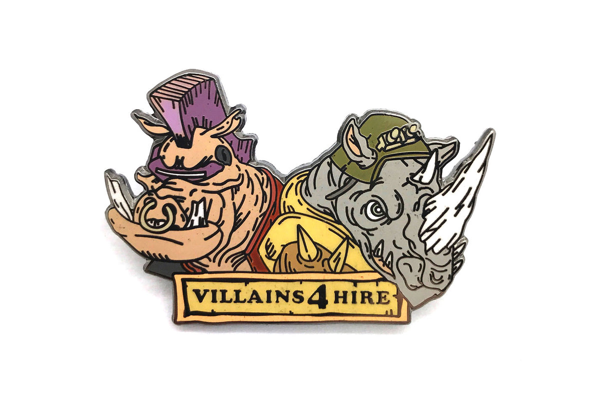Bebop & Rocksteady Pin - Fans Only