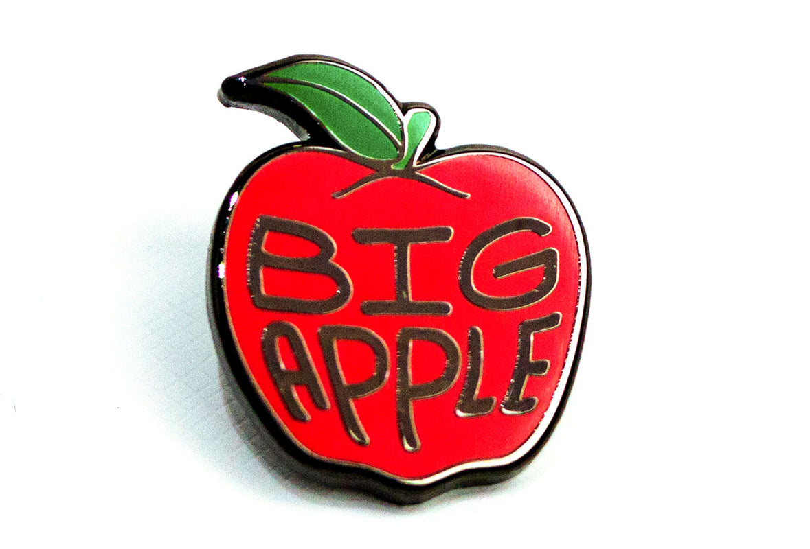 The Big Apple Pin
