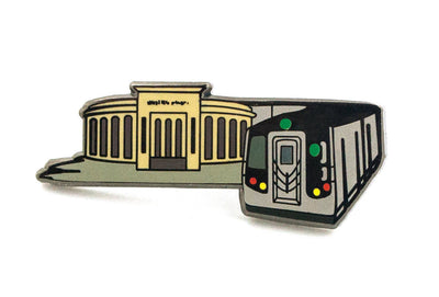 Bronx Stadium Pin