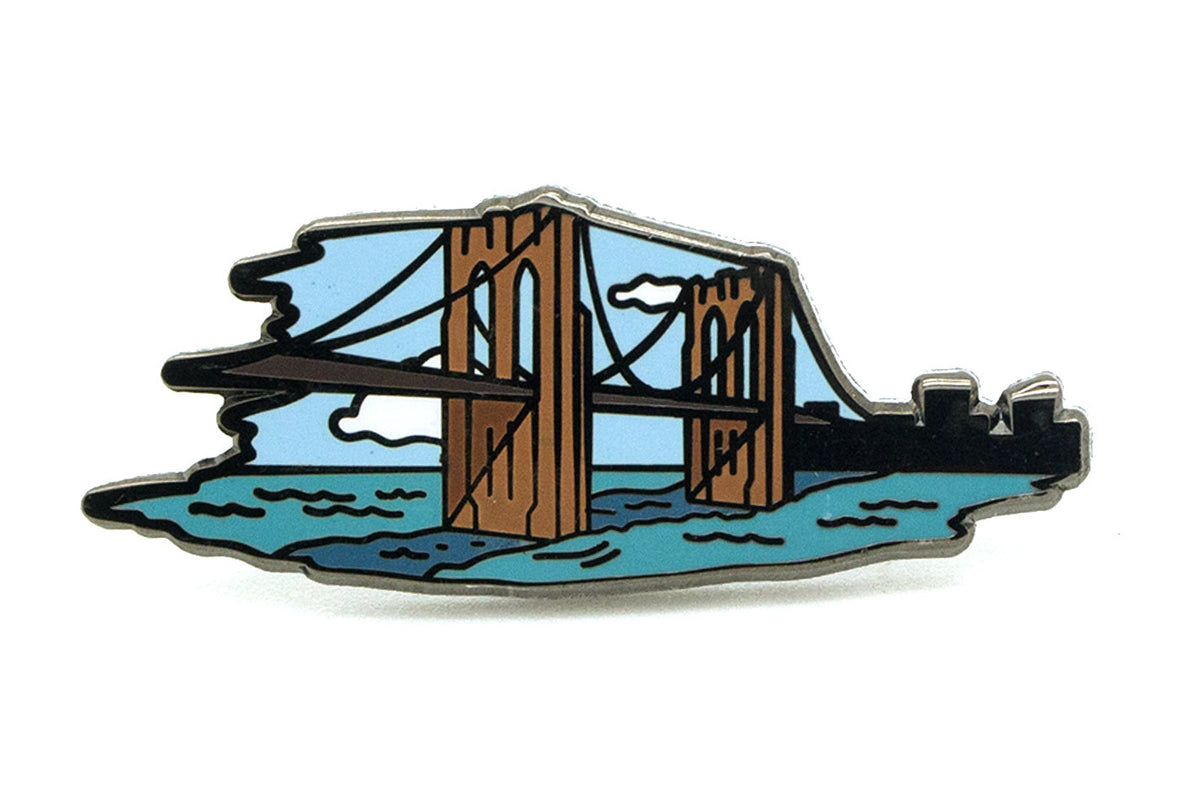 Brooklyn Bridge Pin