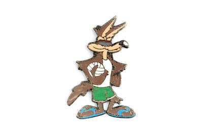 Vintage Wile. E. Coyote 3 Pin