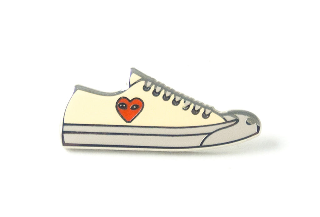 Pin Play Sneaker - Cream