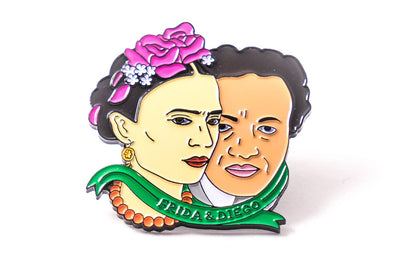Saint Frida & Diego Pin