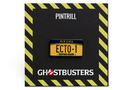 Ghostbusters - Ecto 1 License Plate Pin