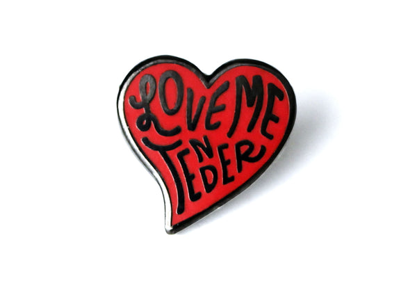 Elvis Presley - Love Me Tender Pin