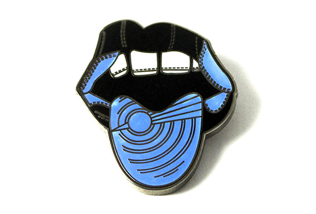 Game Face Pin - Blue