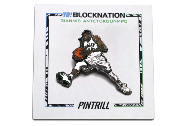 NBALAB x BLOCKNATION - Giannis Antetokounmpo Pin