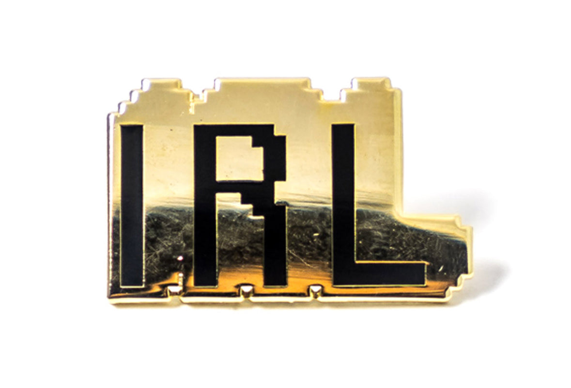 IRL Pin - Gold