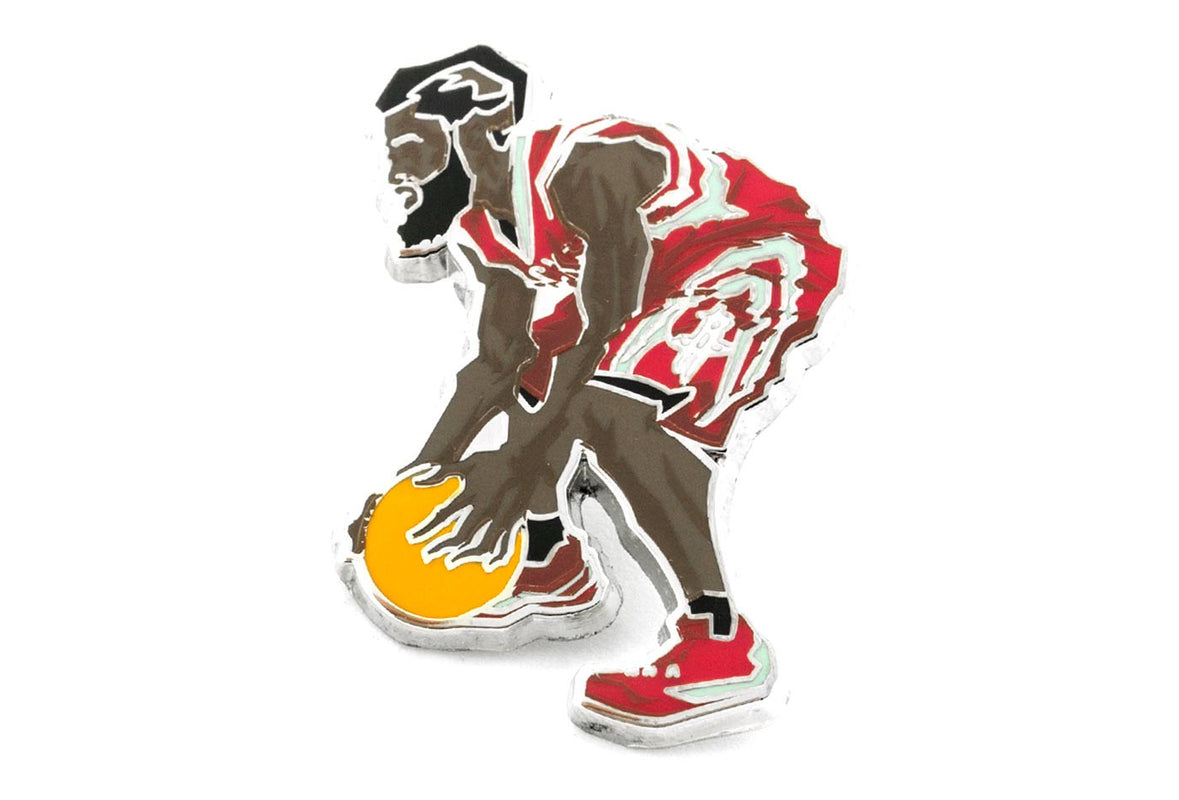 James Harden BLOCKNATION Pin