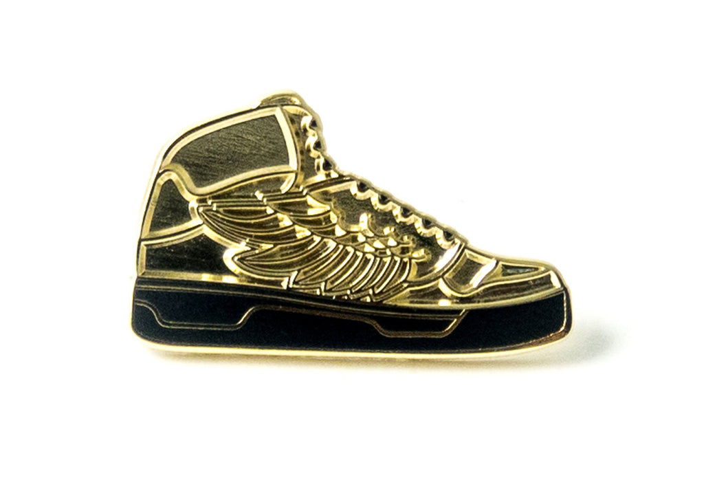 Pin Wings Sneaker - Gold
