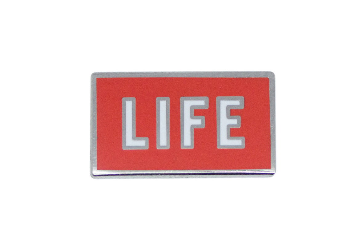 Leisure Life - Life Pin