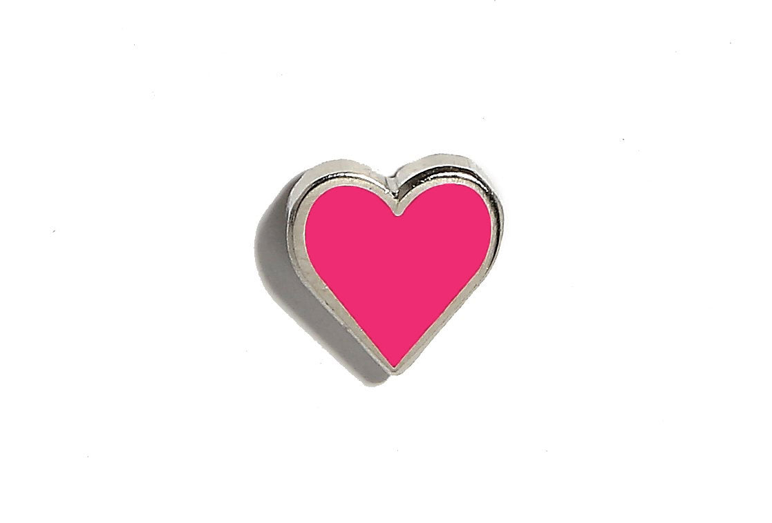 Mini Heart Pin - Pink