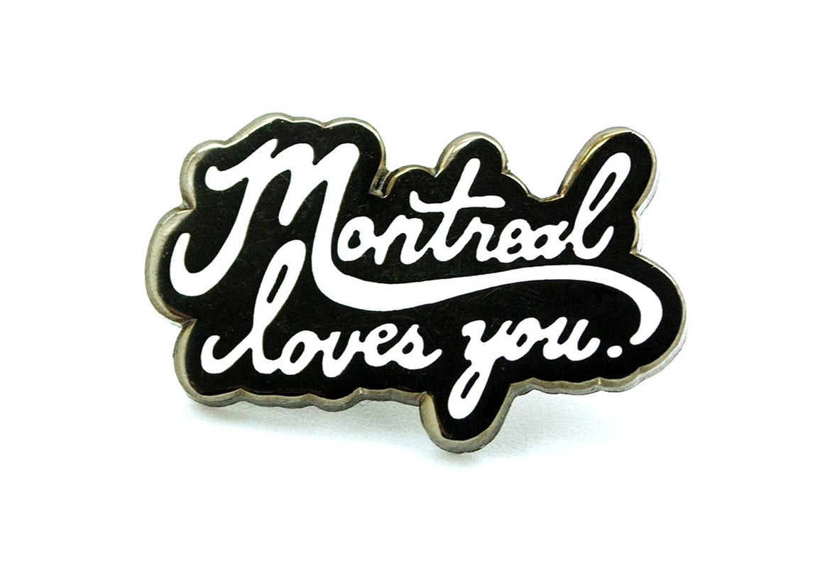 Marcus Troy - Montreal Loves You Pin