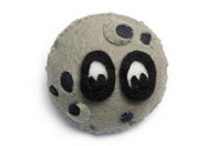 Moon Plush Pin