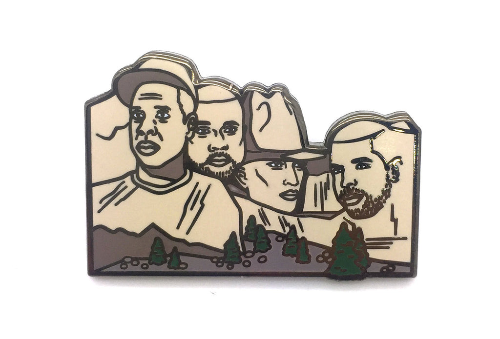 Mount Rapmore Pin