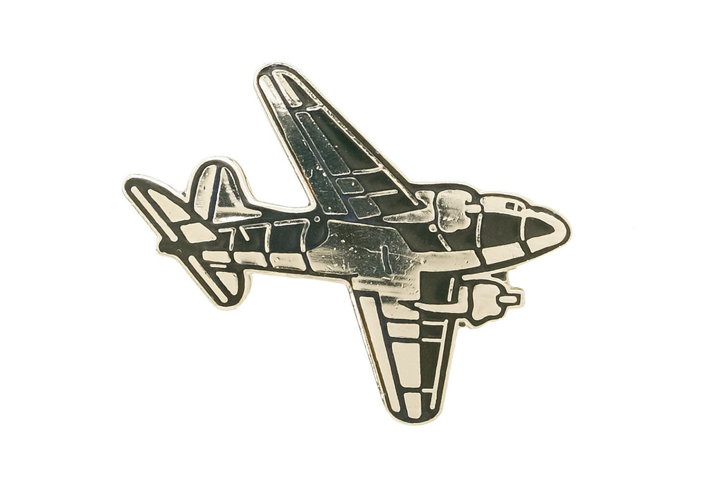 Vintage Fighter Plane 4 Pin