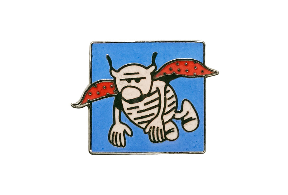 Vintage French Cartoon 2 Pin