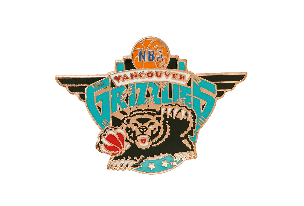 Vintage NBA Grizzlies Pin