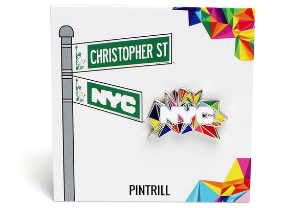 NYCgo - Pride New York Pin
