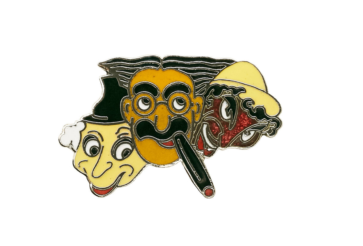 Vintage Groucho Marx Trio Pin
