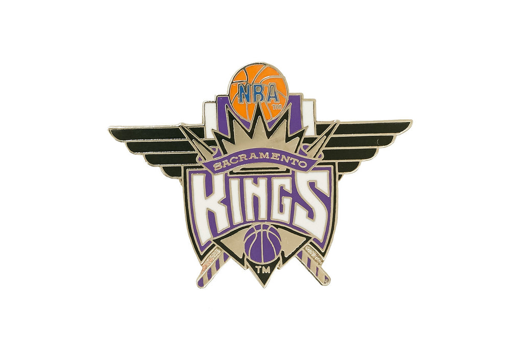Vintage NBA Kings Pin