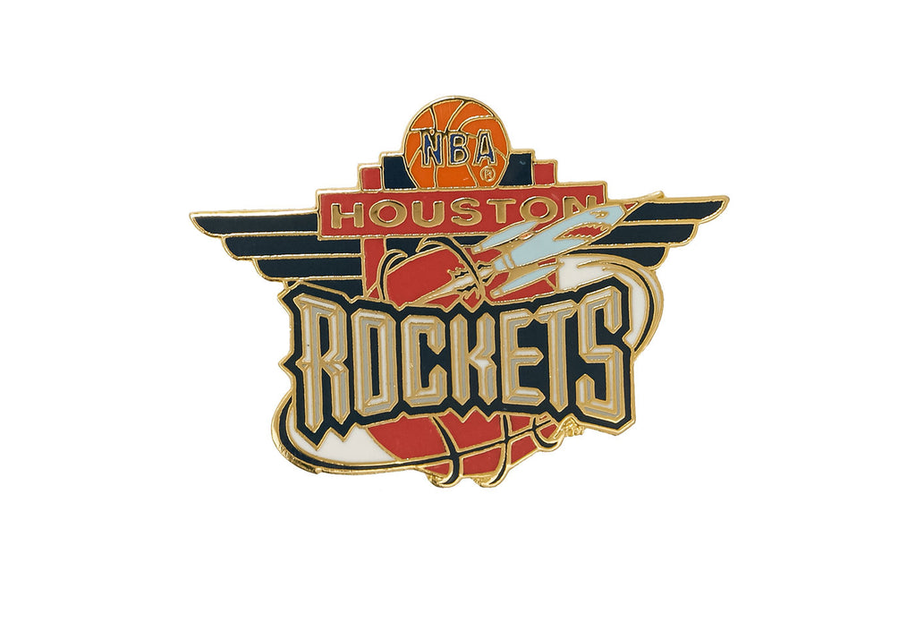 Vintage NBA Rockets Pin