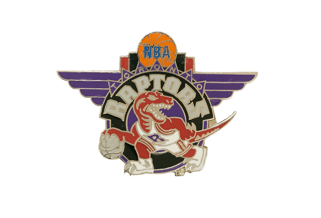 Vintage NBA Raptors 2 Pin