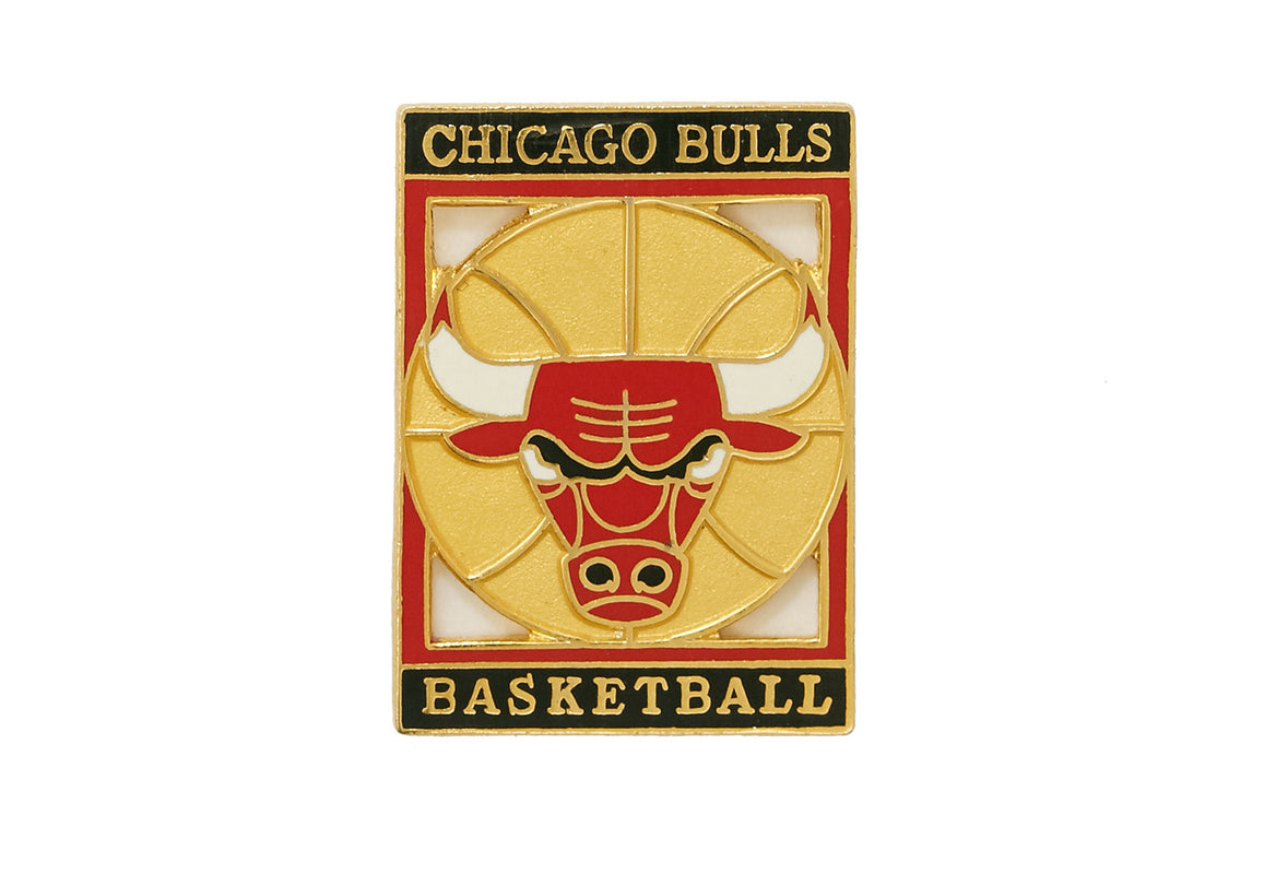 Vintage Chicago Bulls Logo 2 Pin