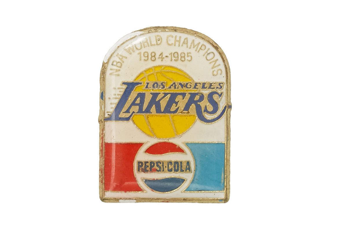 Vintage Lakers NBA World Champions 1984 Pin