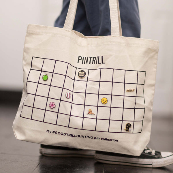 Pin Collection Tote Bag