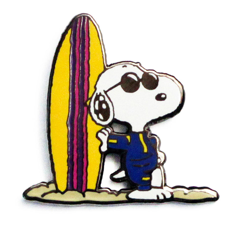 Peanuts - Joe Cool Surf Pin