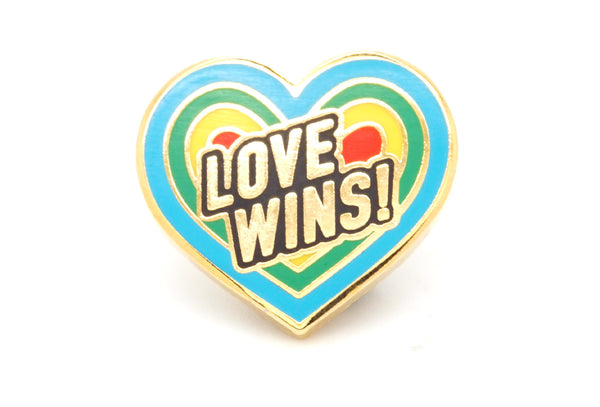 Love Wins Pin