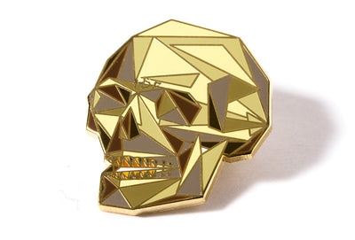 Naturel Skull Pin