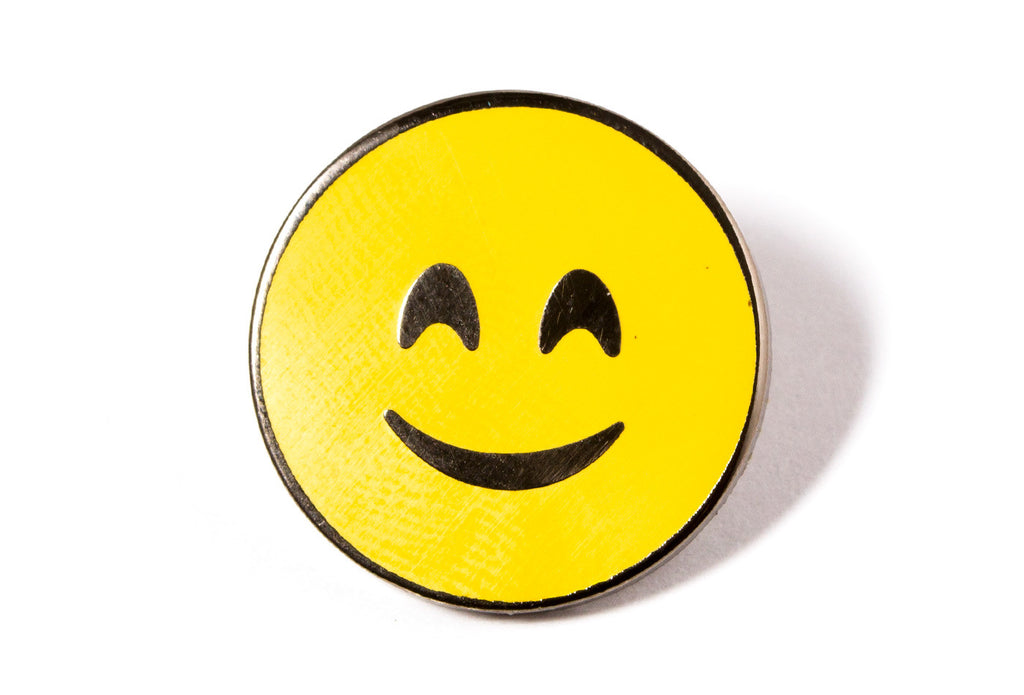 Smiling Face With Smiling Eyes Pin