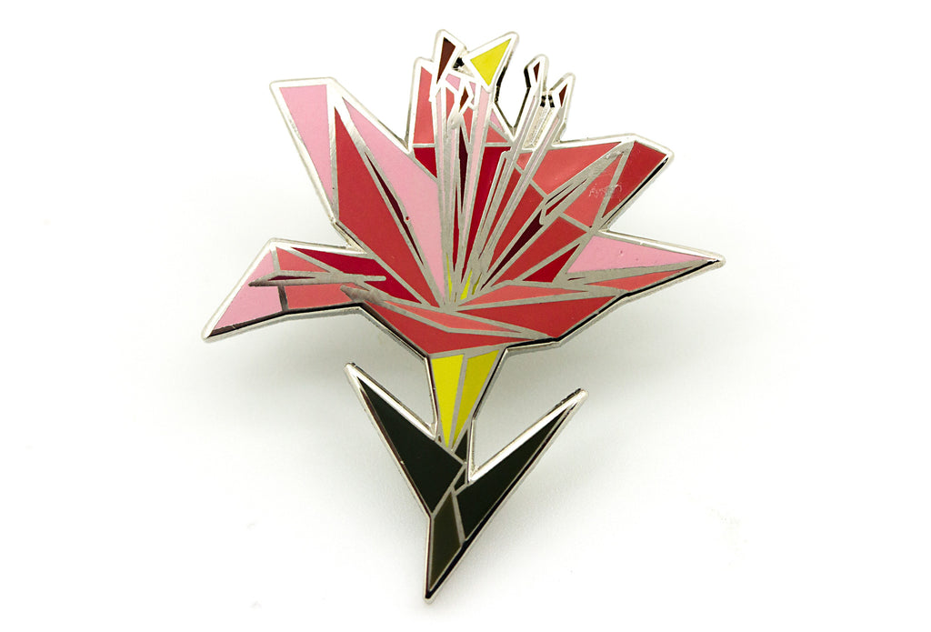 Luxury Lily Pin - Pink