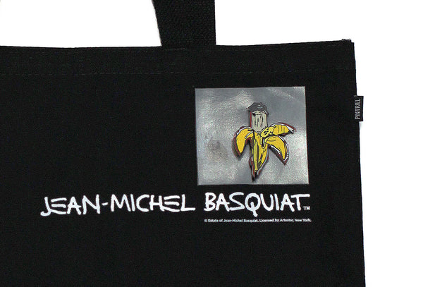 Jean-Michel Basquiat - Banana Andy Tote and Pin