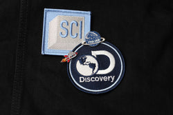 Discovery Channel - Rocket Ship Man Pin