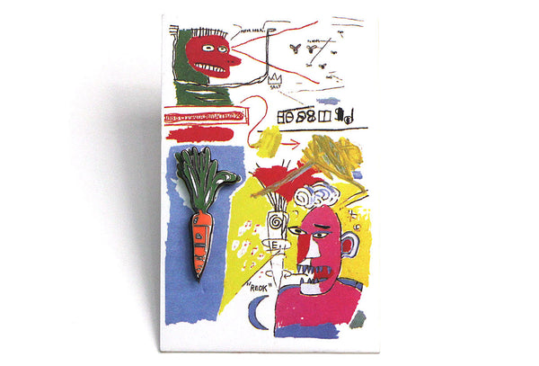 Jean-Michel Basquiat - Carrot 85 Mini Pin