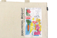 Jean-Michel Basquiat - Carrot 85 Tote and Pin