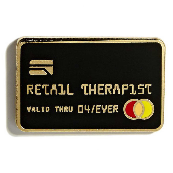 Retail Therapist Pin