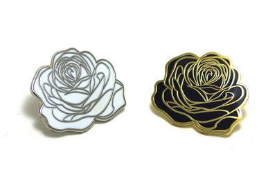 Dedication Roses Pin Set