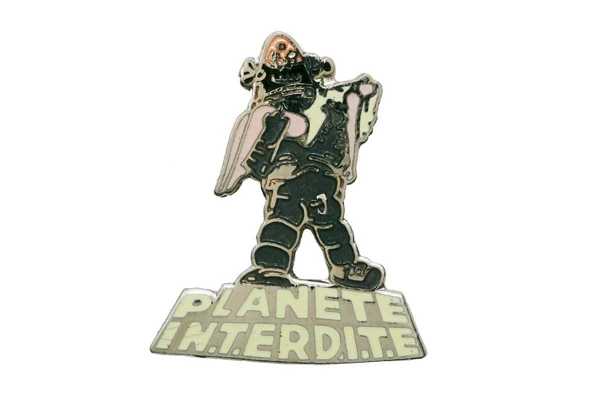 Vintage Forbidden Planet Pin