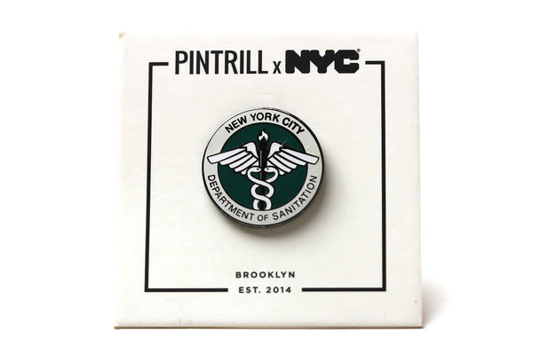 NYCgo - Department of Sanitation Pin