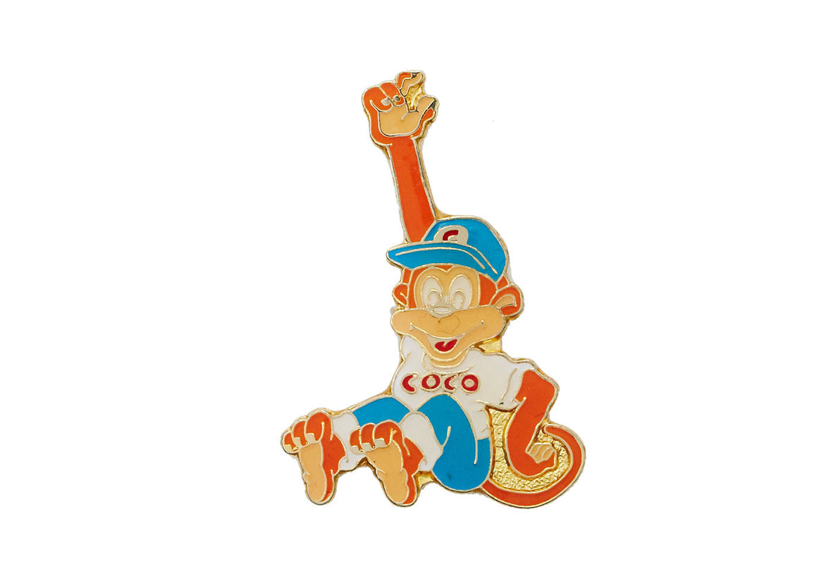Vintage Coco the Monkey Pin